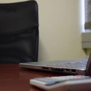 desk empty